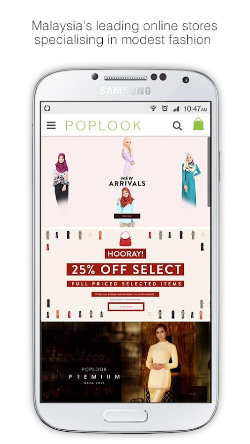 POPLOOK Modest Fashion- screenshot