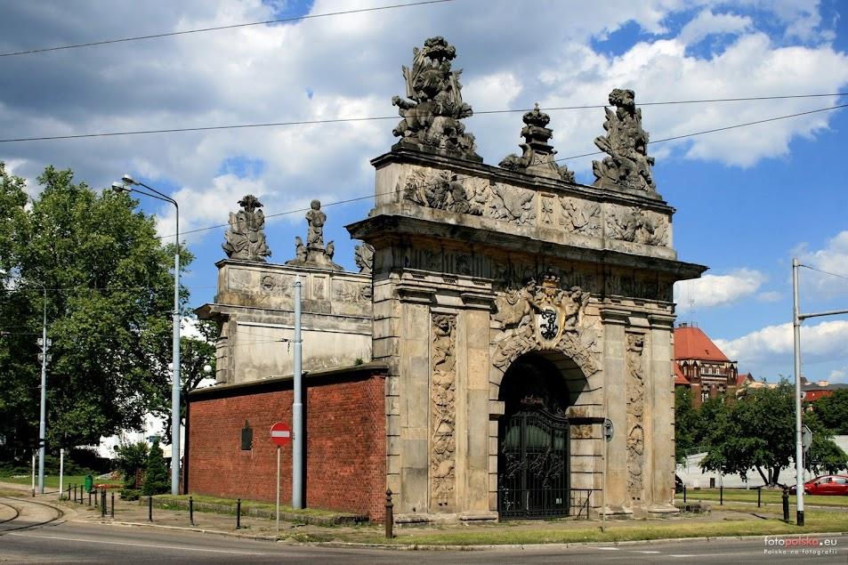 Brama Królewska Szczecin czekolada