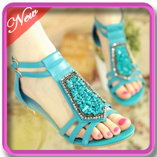 new design sandals - náhled