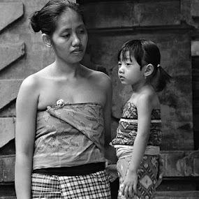 Waiting.. by I Wayan Gunayasa - People Portraits of Women