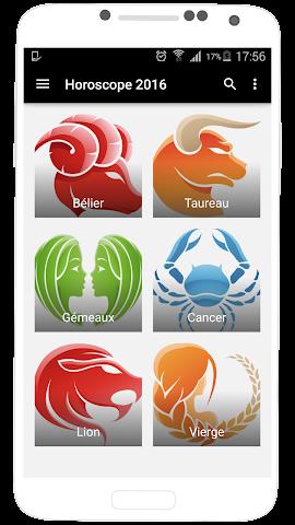 android Horoscope 2016 en Français Screenshot 0