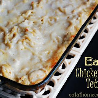 Chicken Tetrazini – Crockpot and Oven versions