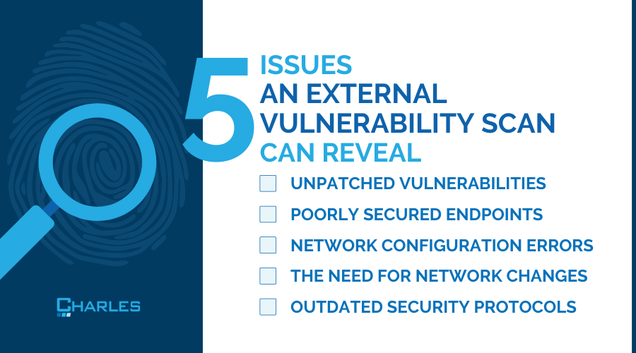 SOC 2 compliance: 5 issues an external vulnerability scan can reveal