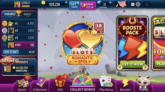 Romantic Spin Slots - Las Vegas Casino Screenshot
