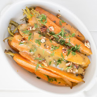Crockpot Orange, Honey and Herb Glazed Carrots Recipe