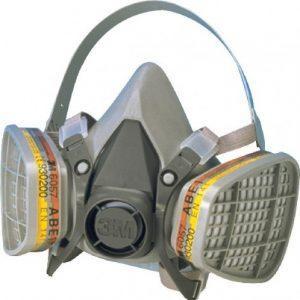 Sử dụng mặt nạ phòng độc an toàn và đúng cách