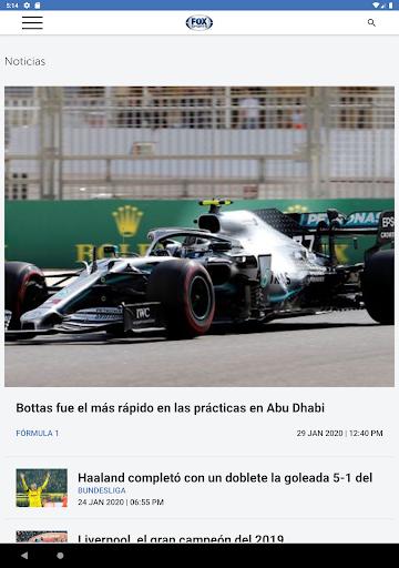 FOX Sports Latinoamu00e9rica 9.1.5 Screenshots 8