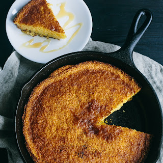 Gluten-Free Southern Skillet Cornbread Recipe
