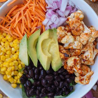 Barbecued Cauliflower Salad
