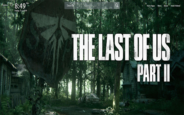 The Last of Us 2 Wallpapers Theme New Tab