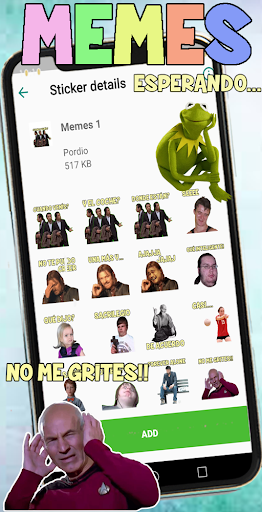 Memes frases stickers para WhatsApp ss3