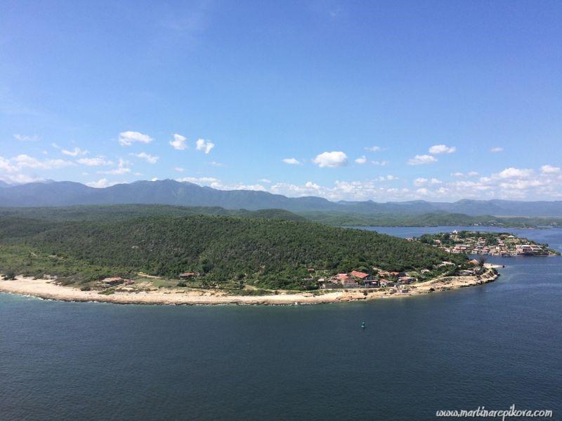 Bay of Santiago de Cuba, view from Castillo de Moro, Cuba