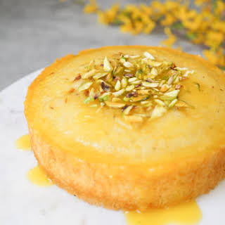 Orange Semolina Cake in Instant Pot / Pressure Cooker.