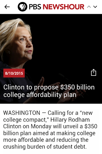 PBS NEWSHOUR - Official Screenshot