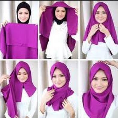 Tutorial Hijab Pashima Paris - screenshot