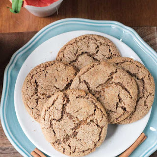 Cinnamon Sugar Cookies (Gluten Free, Dairy Free).