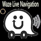 2018 Waze - GPS, Maps, Live Navigation Tips icon