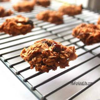 Oatmeal Raisin Breakfast Cookies.