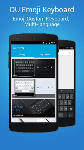 DU Emoji Keyboard-ES screenshot 3