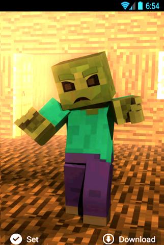 android Hintergrundbilder minecraft Screenshot 4