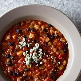 Buffalo-Style Quinoa Chili.
