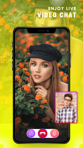 Live video call with girls : random video chat app 2.1 screenshots 4