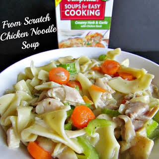 From Scratch Chicken Noodle Soup.