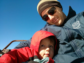 Photo: Daddy and Finn Chairlift