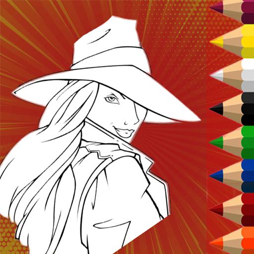 Best Coloring Game Carmen Heroes In San Diego Apps Bei