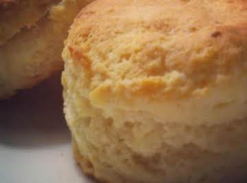 Tender and Flaky Buttermilk Biscuits