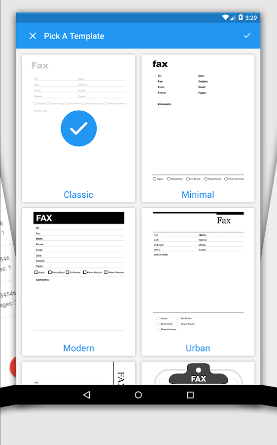 iFax - Easy Way To Send & Receive Fax from Phone- screenshot