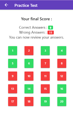 Practice Test USA & Road Signs - screenshot
