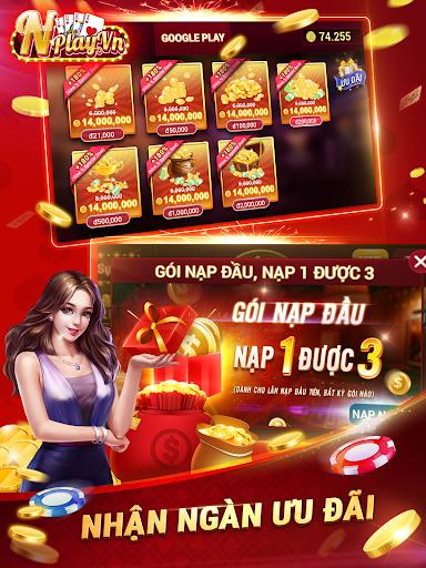NPLAY: Game Bu00e0i Online, Tiu1ebfn Lu00ean MN, Binh, Poker..  screenshots 10