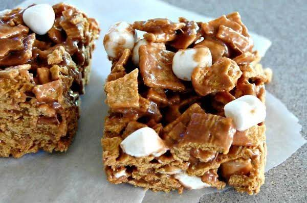 Golden Graham S'mores Bars Recipe