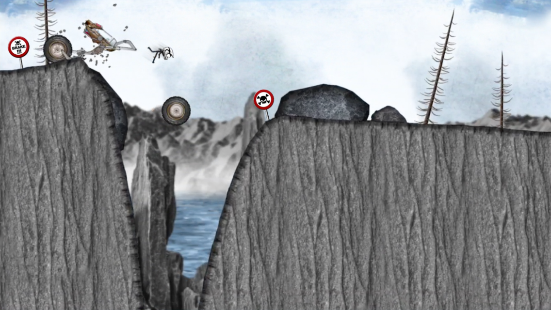 Stickman Downhill Monstertruck- screenshot