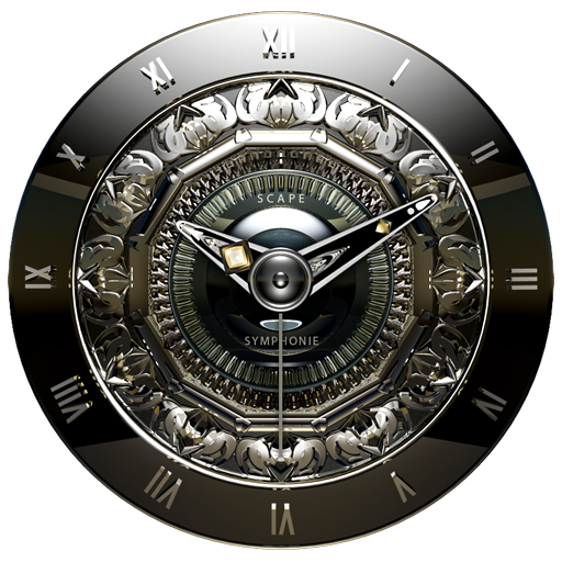 SYMPHONIE Luxury Clock Widget