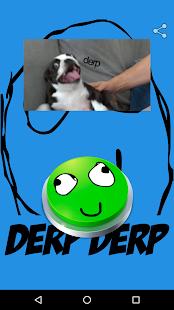 Derp Meme Button - náhled