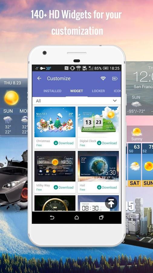 Blockieren Sie Anzeigen in den gelben Widgets android apps download