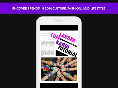 EDM World Magazine- screenshot thumbnail