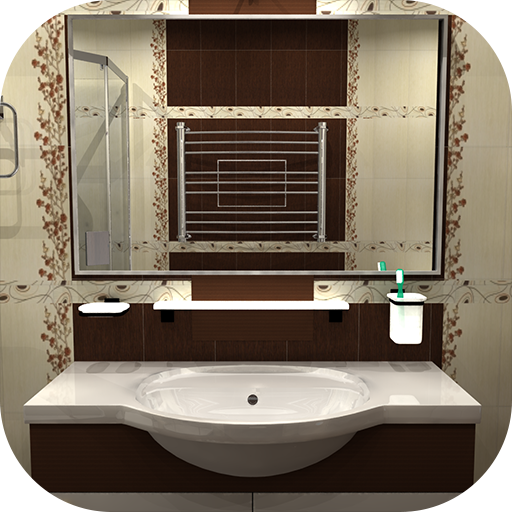 Bathroom - room escape game - 冒險 App LOGO-硬是要APP