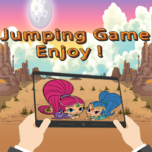??jumping adventure world of Shimmer - náhled