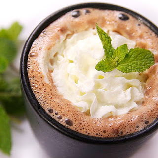 Tequila Mint Hot Chocolate.