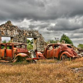 Oradour by Dominic Jacob - Transportation Automobiles ( massacre, memorial, wwii, oradour, france, memories, war, world, glane )