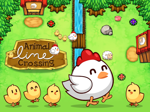 Animal Line Crossing - Guide The Animals Home screenshot 13