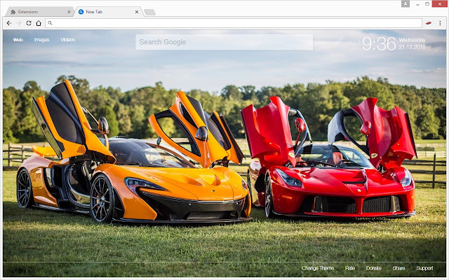 Chrome Web Store Wallpapers Cars Cars