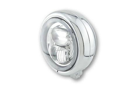 HIGHSIDER 5 3/4 inch LED spotlight PECOS TYP 7 with parking light ring