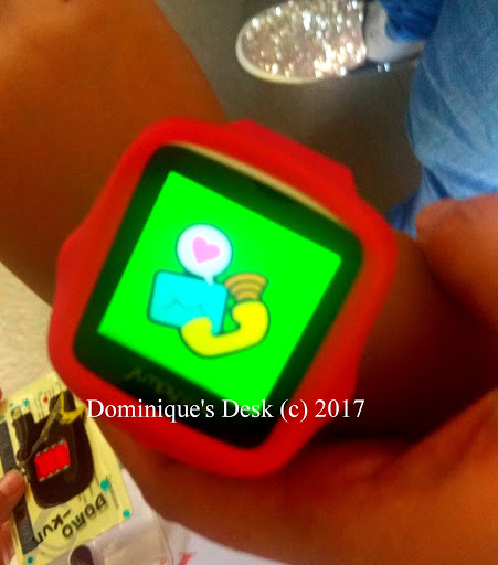 The phone /message function on the Jumpy Plus Watch