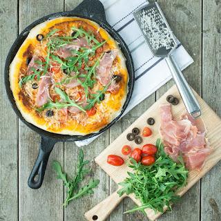 Prosciutto Di San Daniele & Grana Padano Pizza Recipe