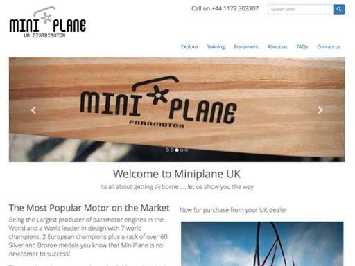 Miniplane paramotoring