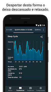 Sleep Cycle alarm clock: miniatura da captura de tela